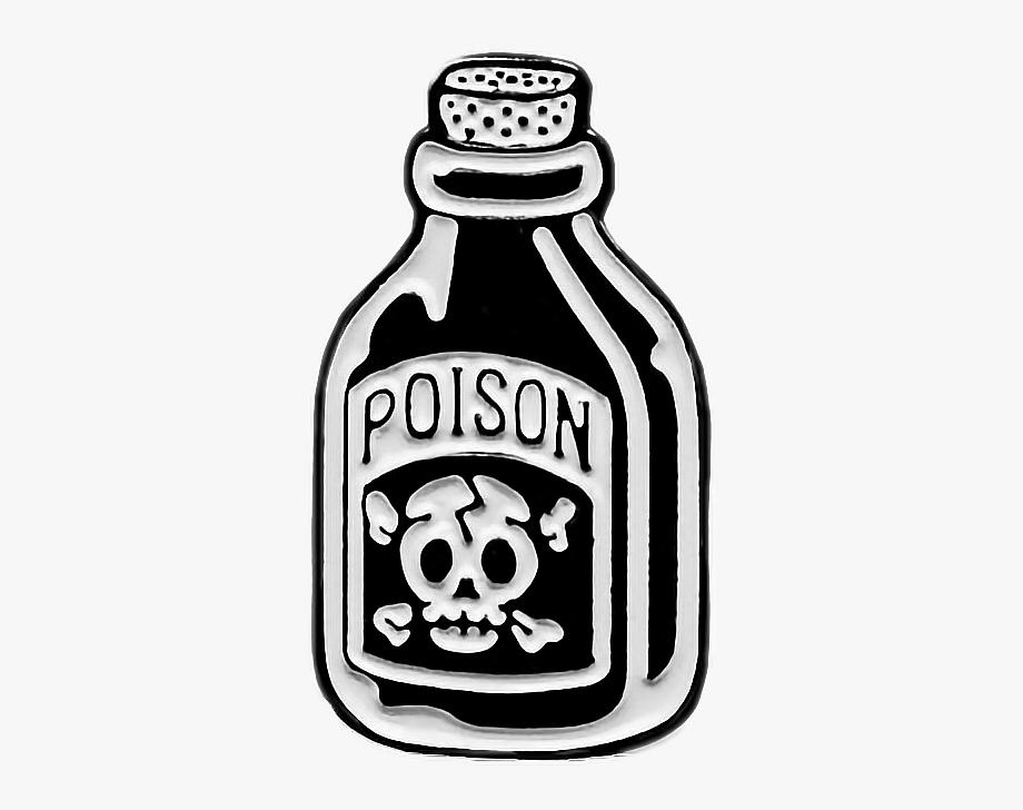 poison #bottle #death #art #patch #patches #black.