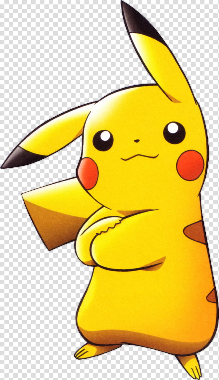 Pikachu Render, Pokemon Pikachu transparent background PNG.