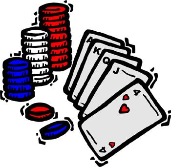 Poker Chip Clip Art.