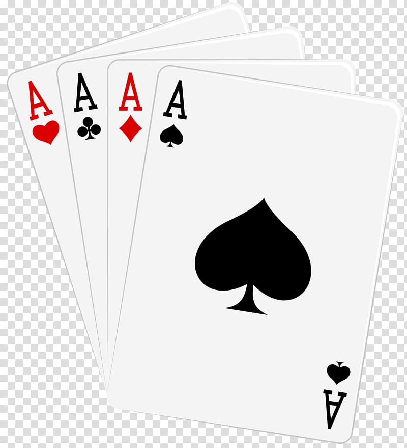 Ace Playing card Suit Poker , cards transparent background.