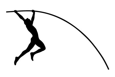 593 Pole Vault Stock Illustrations, Cliparts And Royalty Free Pole.