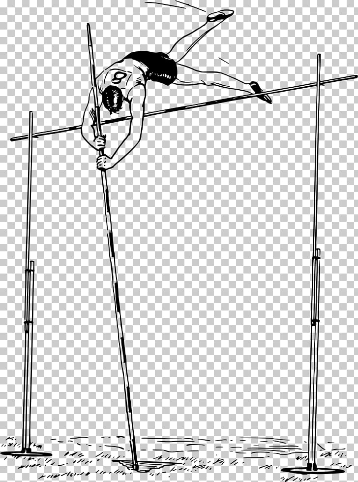 Pole vault Track & Field Computer Icons , pole PNG clipart.