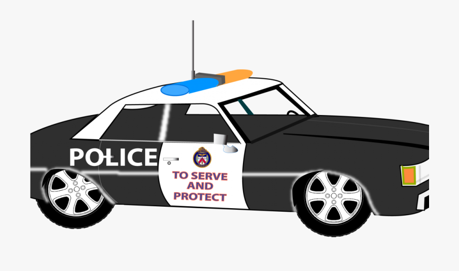 Police Car Clipart 1 Police Car Clipart 2 , Transparent.