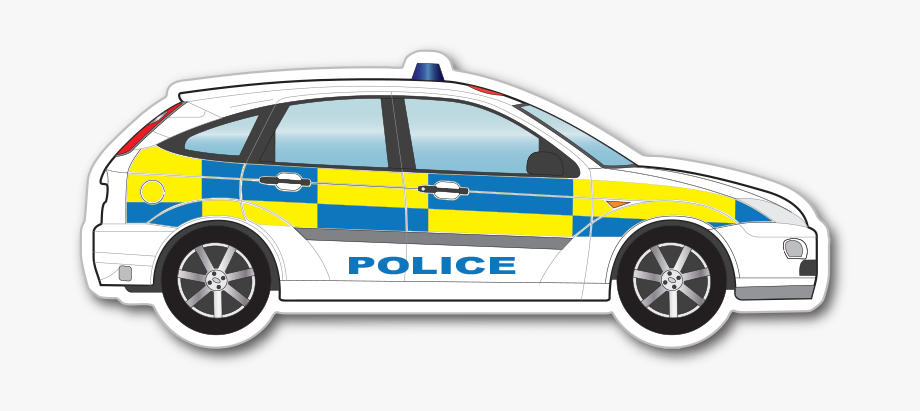 Police Car Clipart Kid.