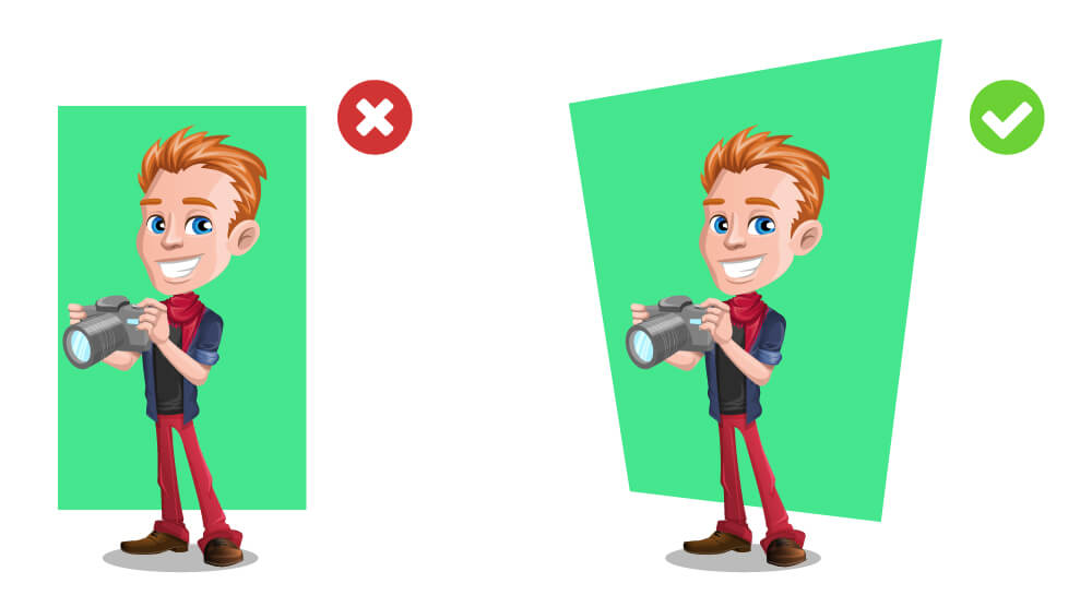 How to Make a Cool Background for a Vector Character.