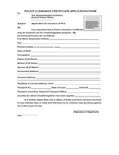 Certificate format.