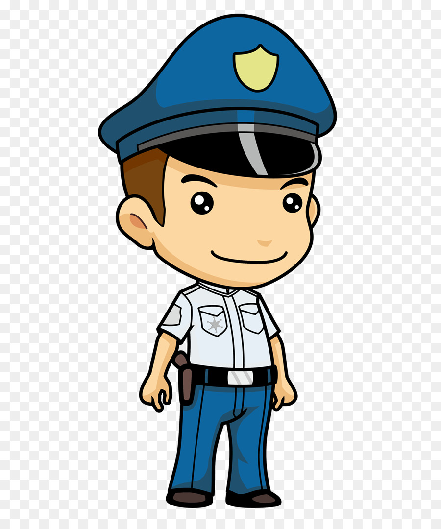 Police Officer Cartoon.