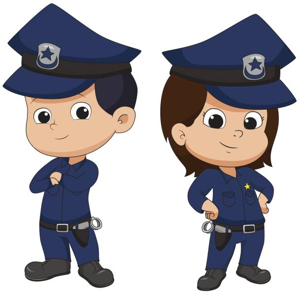 Policeman Animated Clipart.