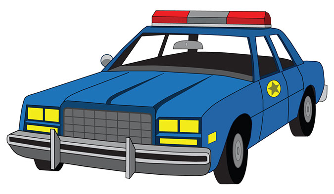 Police Mobile Clipart.