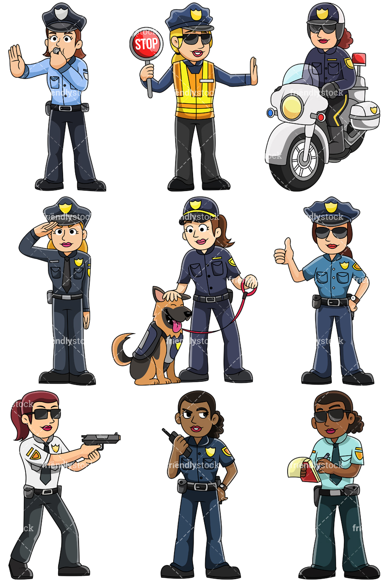 Female Police Officers Collection.