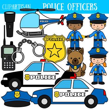 Police Clip Art, Police Officer.
