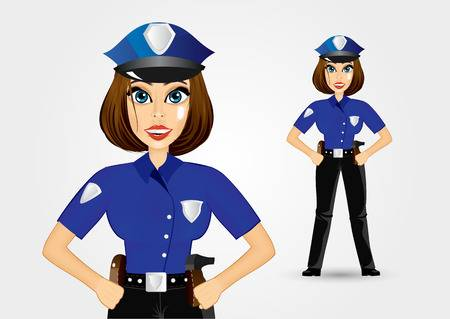 5,800 Police Woman Cliparts, Stock Vector And Royalty Free Police.