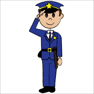 Police officer clipart free clipart images 2.