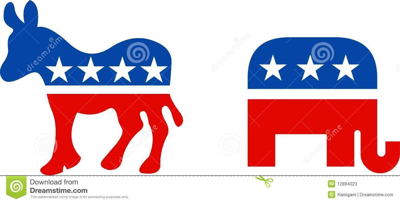 USA political symbols editorial stock photo. Illustration of blue.