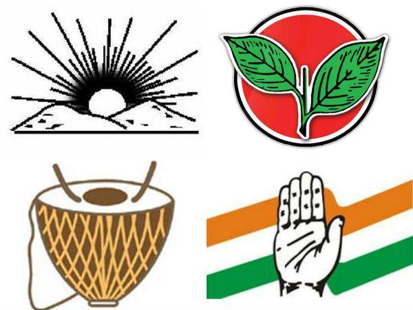 Political parties of Tamil nadu.