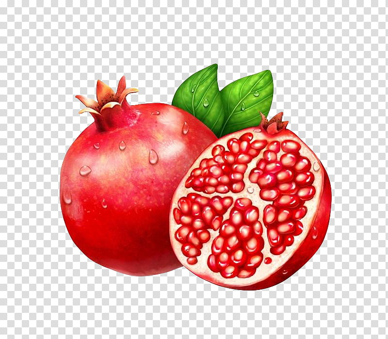Colorpalace, pomegranate fruit transparent background PNG.