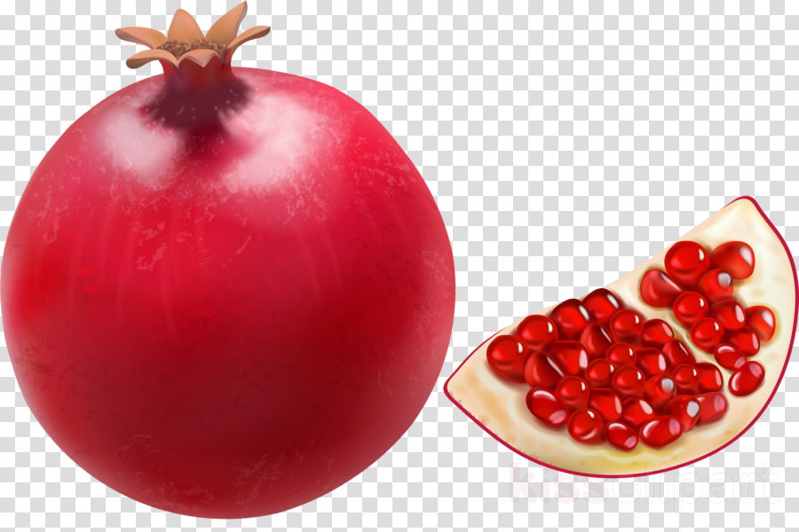 pomegranate natural foods fruit food superfruit clipart.