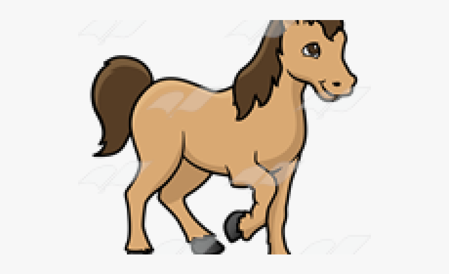 Pony Clipart Brown Thing.