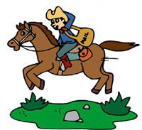 The Pony Express.