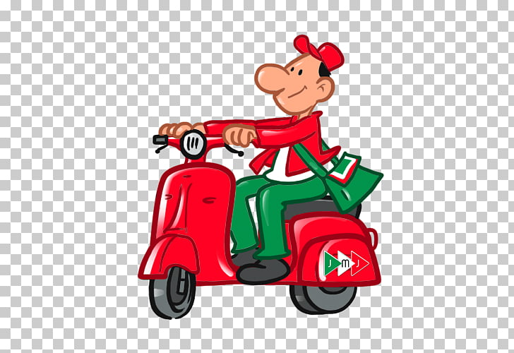 Jet Post Pony Express Courier Scooter Car , scooter PNG.