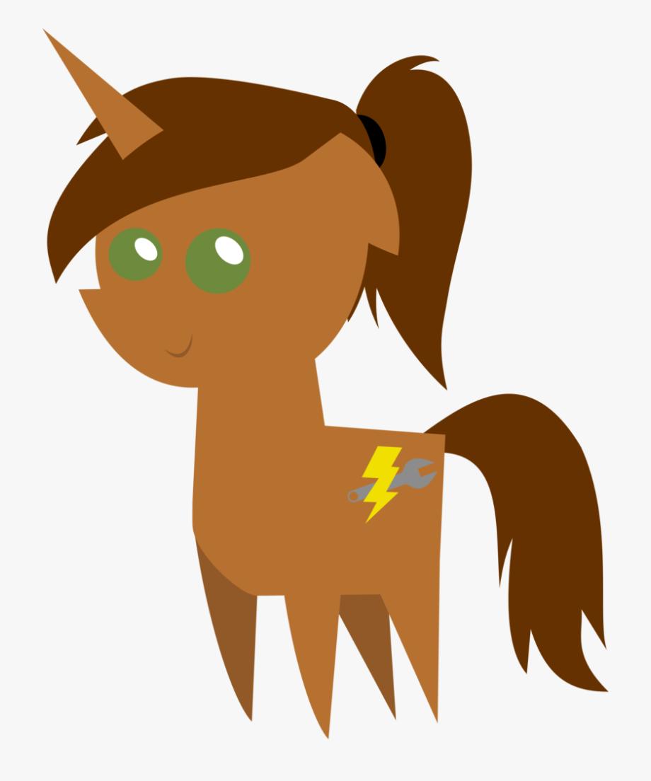 Ponytail Clipart Transparent.