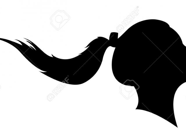 Free Ponytail Clipart, Download Free Clip Art on Owips.com.
