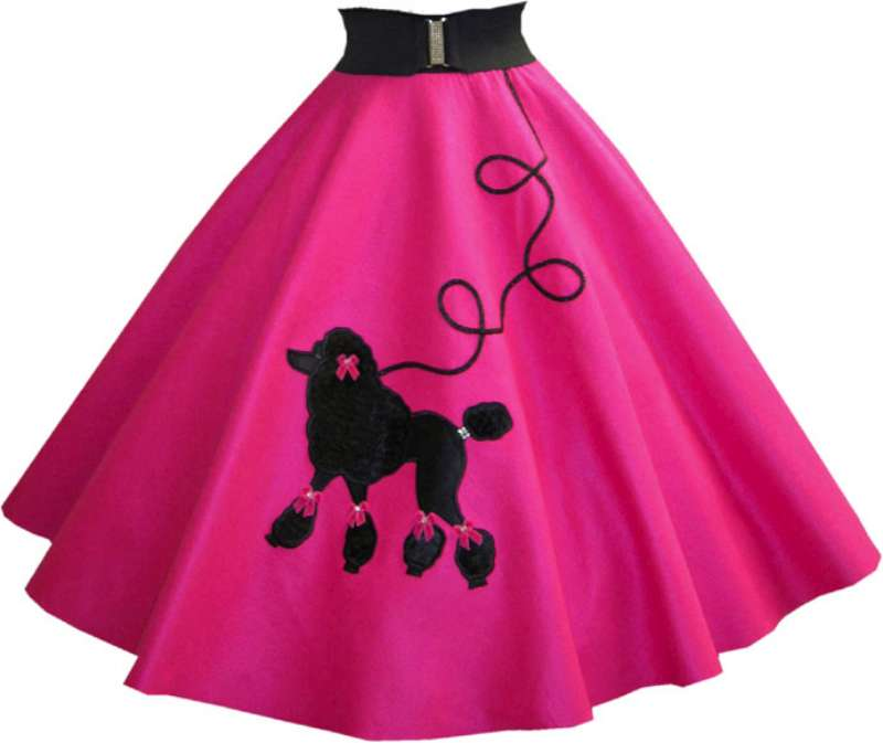 Poodle Skirt Cliparts.