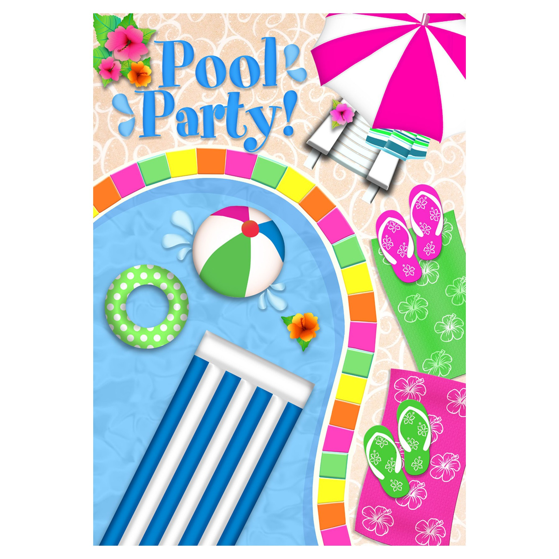 swimming pool free clipart #3