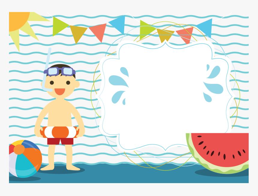 Hd Summer Clipart Swimming.