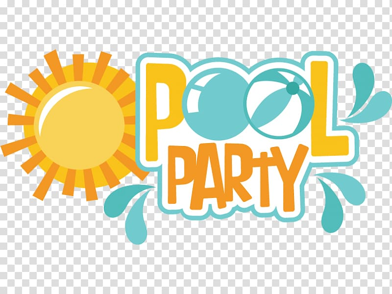 Pool party illustration, Party Swimming pool , Privet Party.