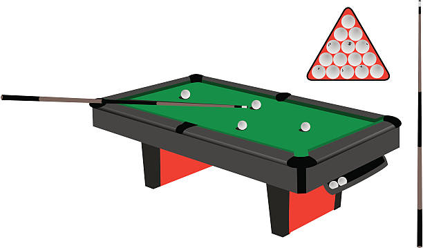 Best Pool Table Illustrations, Royalty.