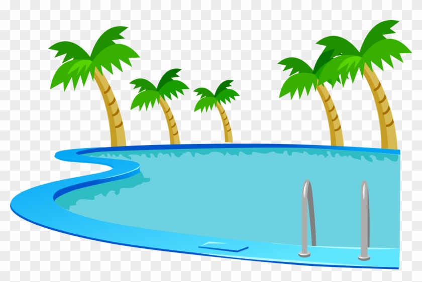 Image Transparent Stock Clipart Swimming Pool.