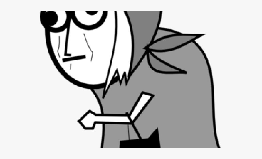 Old Lady Clipart.