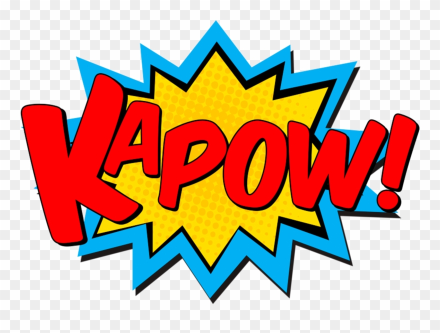 Pop Art Superhero Transprent Png Free.
