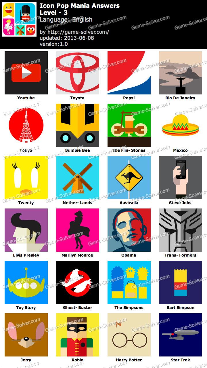 Icon Pop Mania Level 3.