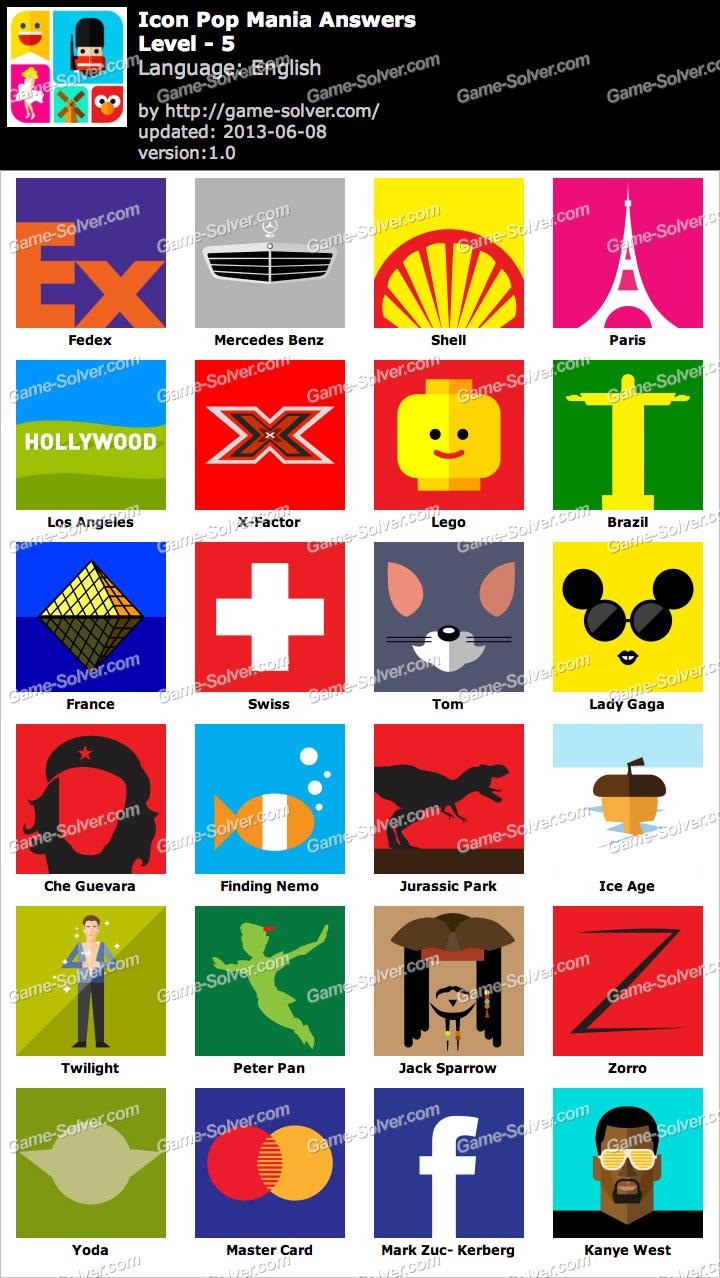 Icon Pop Mania Level 5.
