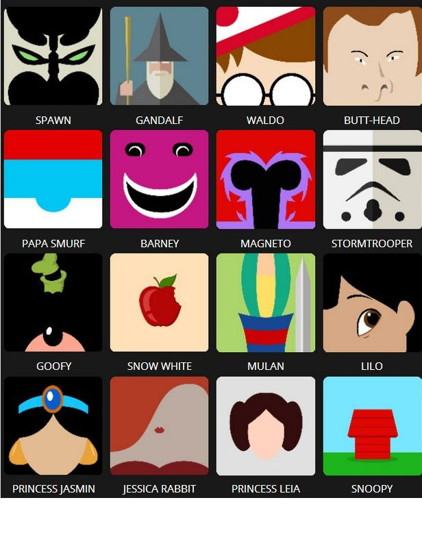 Icon Pop Quiz Answers Character Level 4.