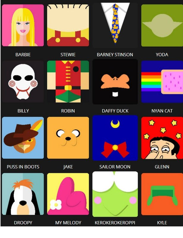 Icon Pop Quiz Answers Character Level 5.