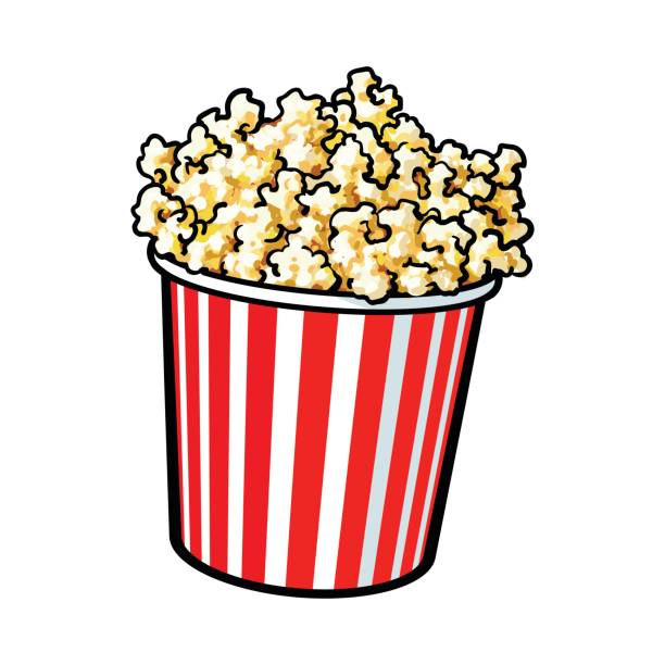 Popcorn clipart free 2 » Clipart Station.