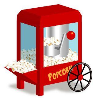 Popcorn Clip Art #4634.