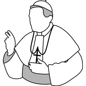 pope clipart, cliparts of pope free download (wmf, eps, emf, svg.
