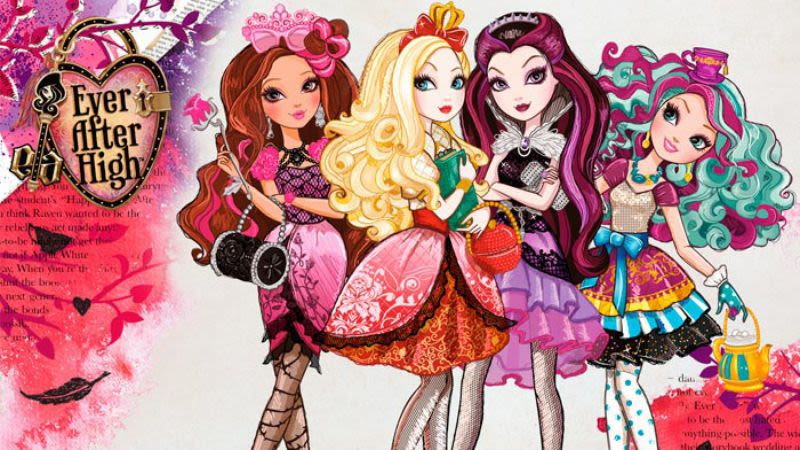 Ever After High is a real thing, and it\'s getting its own movie.