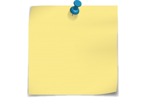 Post It Note Clipart No Background.