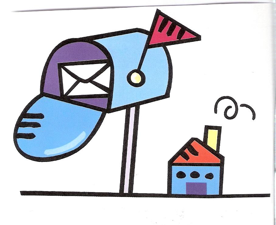 Postal cliparts.