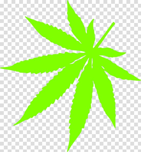 Cannabis Leaf , pot leaf transparent background PNG clipart.