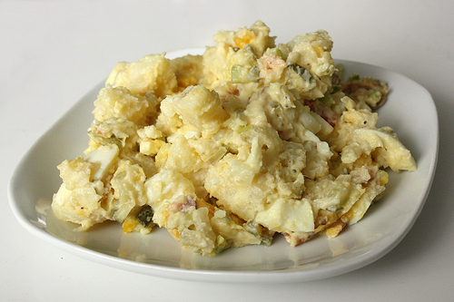 Sunshine and Bones: Best Ever Potato Salad.