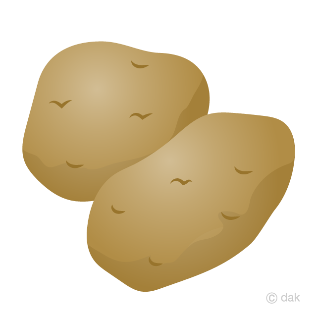 Free Potato Clipart Image|Illustoon.