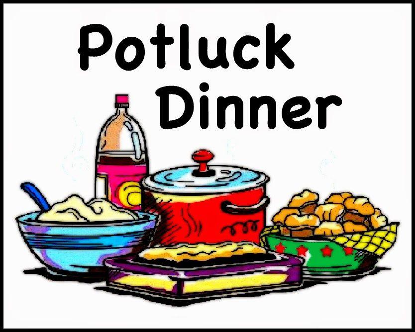 Church Potluck Dinner Clipart.