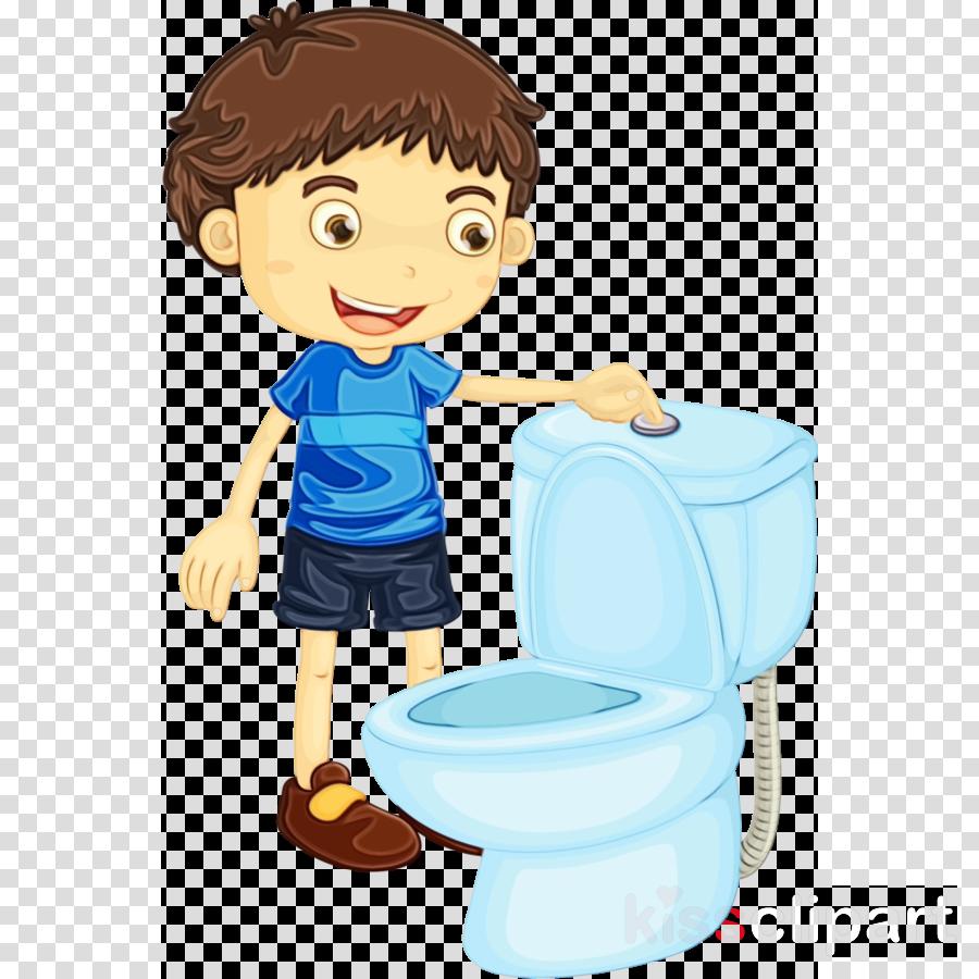 potty training cartoon child clip art toddler clipart.