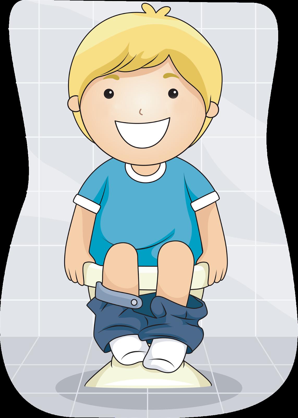 Clipart bathroom boy potty training, Clipart bathroom boy.